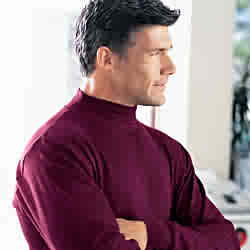 Men's Mock Turtleneck